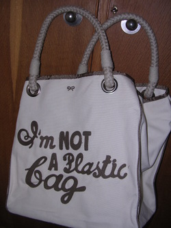 Review: The Anya Hindmarch 'I'm Not Plastic Bag' bag